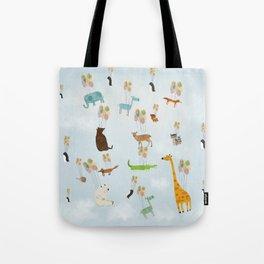 the sky zoo Tote Bag