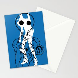 Nobody wants me, so they can all just die. Stationery Cards