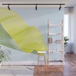 Banana leaf luminous Wall Mural