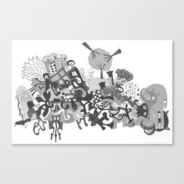 mashup 11 Canvas Print