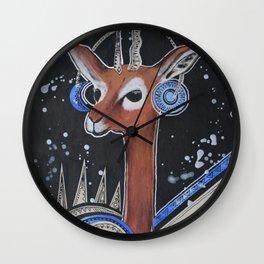 Space Bokkie Wall Clock
