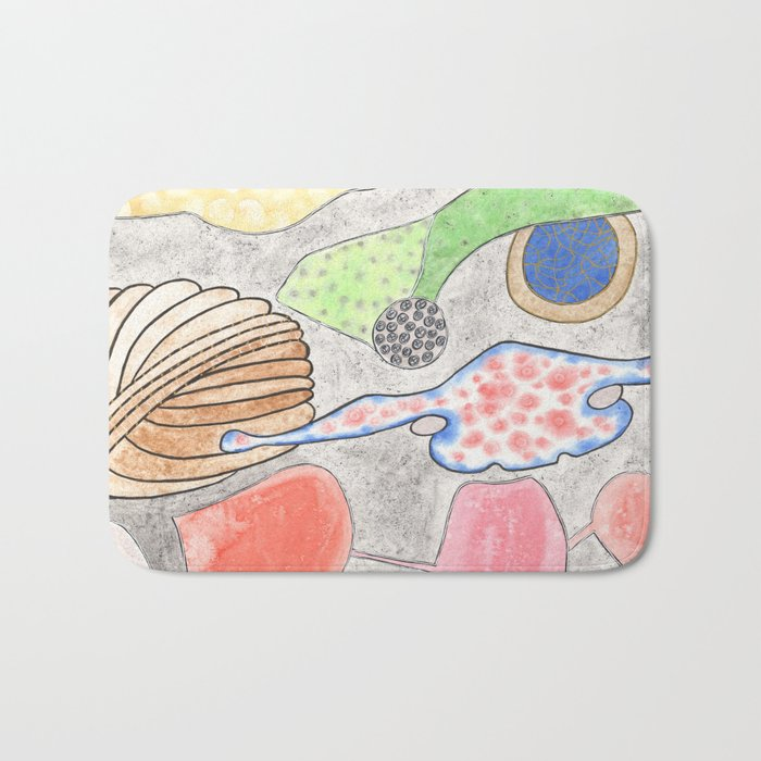 Collection of Alien Organs Bath Mat