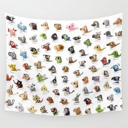 Marathon Animals Wall Tapestry
