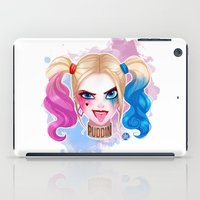 harley iPad Cases featuring Suicide Harley by Awdrey