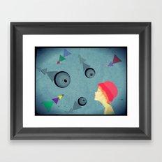 eye for an eye Framed Art Print