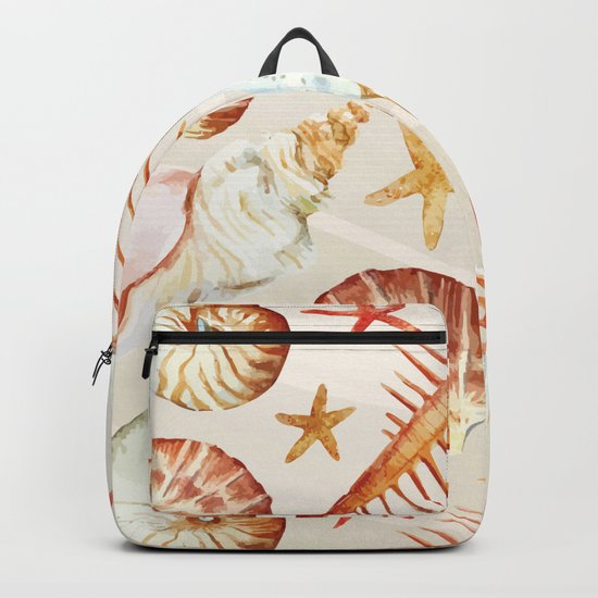 Marine Pattern 06 Backpack