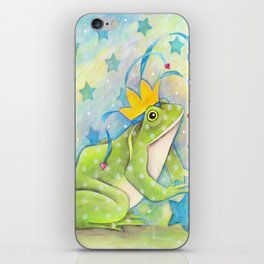 Whimiscal Bull Frog iPhone Skin