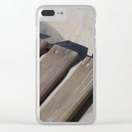 boardwalk Clear iPhone Case