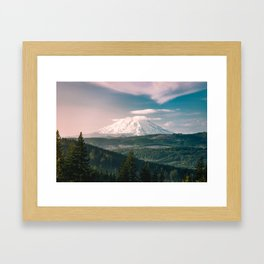 Saints and Sinners - 126/365 Nature Photography Mount St. Helens Framed Art Print