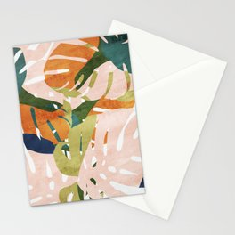 Monstera delight Stationery Cards