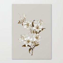 Flowers 9 Canvas Print