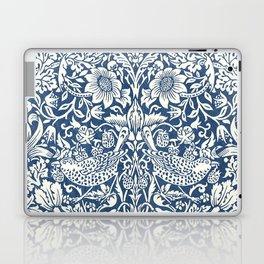 William Morris Navy Blue Botanical Pattern 4 Laptop & iPad Skin