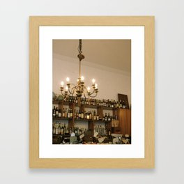 out  Framed Art Print