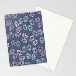 Paw Prints 04 Stationery Cards