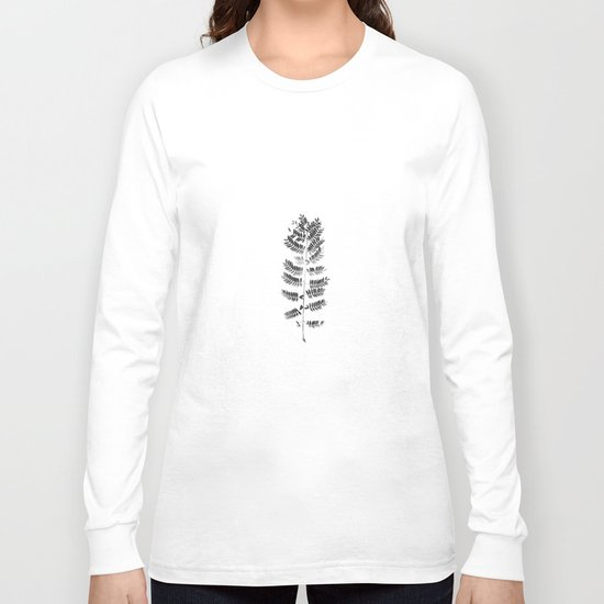 Scanned Nature Long Sleeve T-shirt