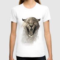 leopard T-shirts featuring Leopard by Rafapasta