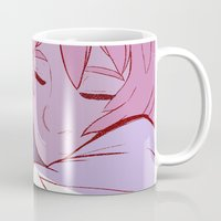 madoka Mugs featuring Madoka and Homura by Breadtastesgood