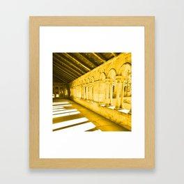 Paisley Abbey Cloisters Framed Art Print