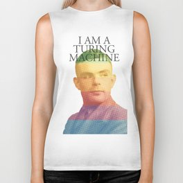 I am a Turing Machine Biker Tank