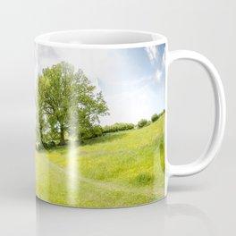 Idyllic Cotswold Summer Landscape Coffee Mug