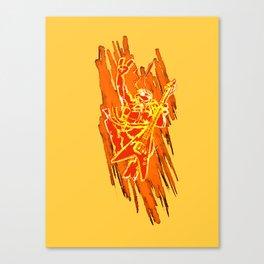 TMNT Rock: Mikey Canvas Print
