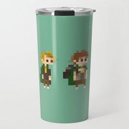 Frodo, Sam, Pippin and merry Travel Mug