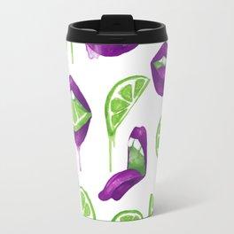 Don't Kill My Vibe (Lime) Travel Mug