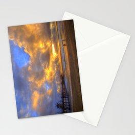 El Niño Sunset Huntington Beach Pier Stationery Cards