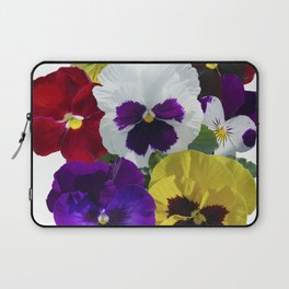Pansies! Laptop Sleeve