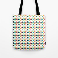 triangle Tote Bags featuring triangle by Sébastien BOUVIER