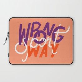 Wrong Way, Sport Laptop Sleeve