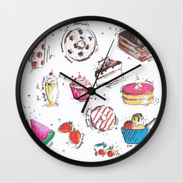 Cake Love Wall Clock