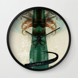 The Tree of Knowledge Wall Clock