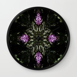 Lilacs for the Celts... Wall Clock