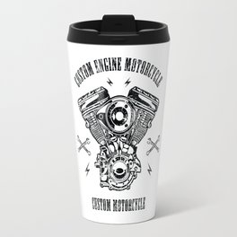 Custom Motorcycle Travel Mug