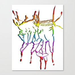 LGBTQ PDA Canvas Print