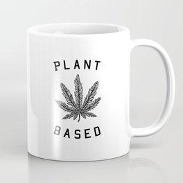plant based marijuana leaf Coffee Mug