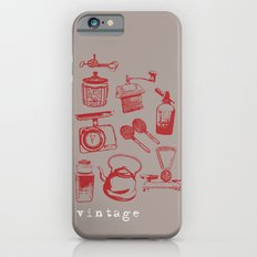 kitchen vintage iPhone 6s Slim Case
