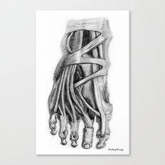 Foot Canvas Print