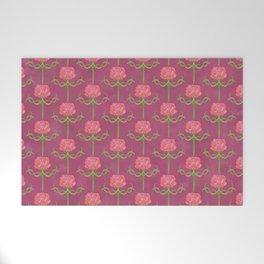 Spring Roses Pattern ~ LOVED UP VAR Welcome Mat