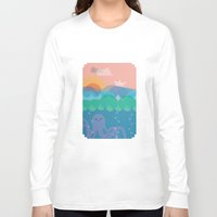 under the sea Long Sleeve T-shirts featuring Under Sea by Loop in the mind