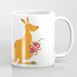 kangaroo misses you Coffee Mug
