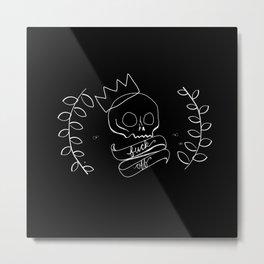 fuck off Metal Print