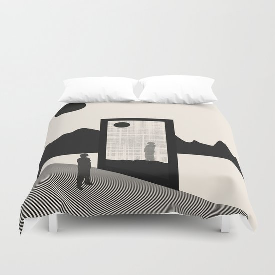 The Truth ( Nature's Decay) Duvet Cover