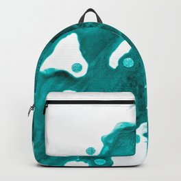 Turquoise wave Backpack