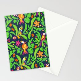 LE PERROQUET DARK Stationery Cards
