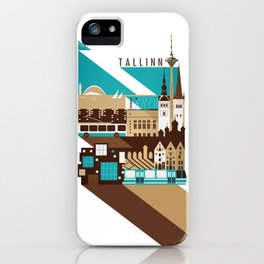 Tallinn Summer Retro iPhone Case