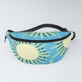 Kiwi Sun Print | Kiwi Print | Summer | Fruity Print | pulps of wood Fanny Pack