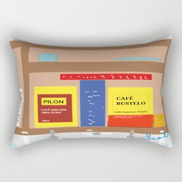 Spanish Harlem Morning Rectangular Pillow