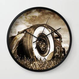 The Pixeleye - Special Edition Hot Rod Series II Wall Clock